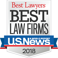 Best Lawyers' Best Law Firms 2017
