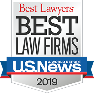Best Lawyers' Best Law Firms 2019