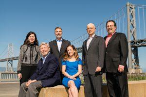 Sandy Rosen, Mike Bien, Ernie Galvan,  Gay Grunfeld, Lisa Ells, and Jeff Bornstein